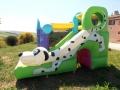 Noleggio affitto gonfiabili per bambini compleanni feste perugia umbria mod Cucciolandia