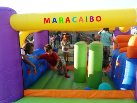 Gonfiabile Percorso Maracaibo
