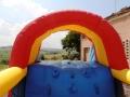 noleggio affitto gonfiabile feste bambini perugia  assisi foligno mod maxi scivolo
