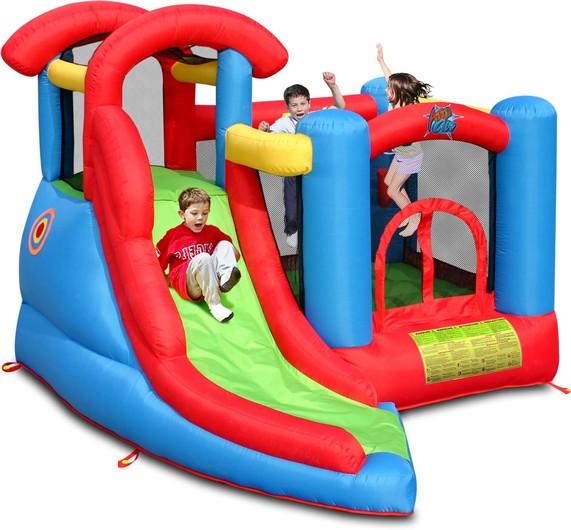 Noleggio affitto gonfiabili per bambini compleanni feste perugia umbria mod  multigioco